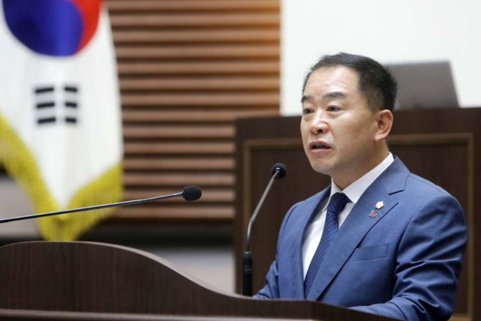 """광주시의회, """"지방자치법 전부개정 수정 촉구 건의안"""" 채택"""