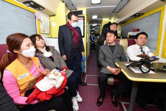 코로나19 여파로 헌혈 '급감', 하남시 공무원들 적극동참
